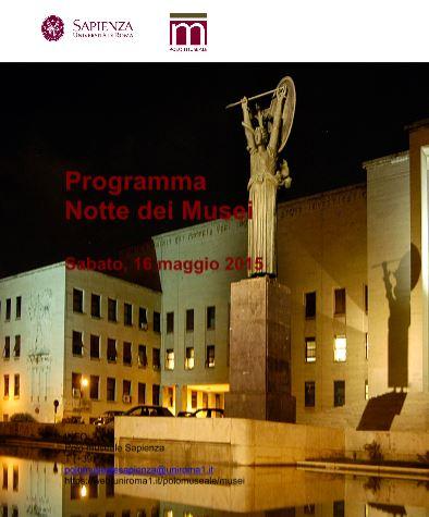 Roma – Programma Notte dei Musei. Sabato, 16 maggio 2015