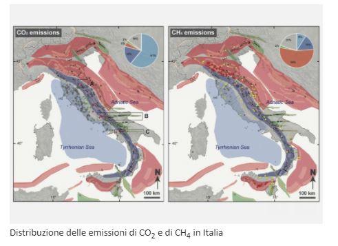 L'interazione tra sismotettonica ed emissione di geofluidi in Italia